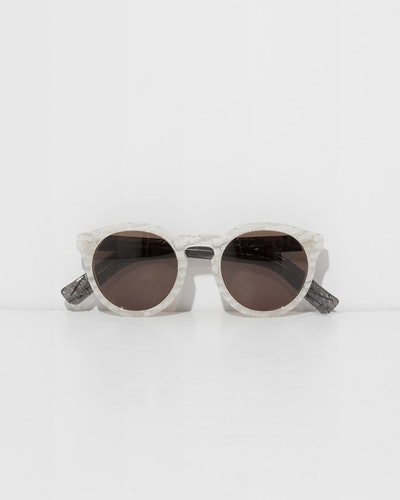 Frosted Leonard II Sunglasses