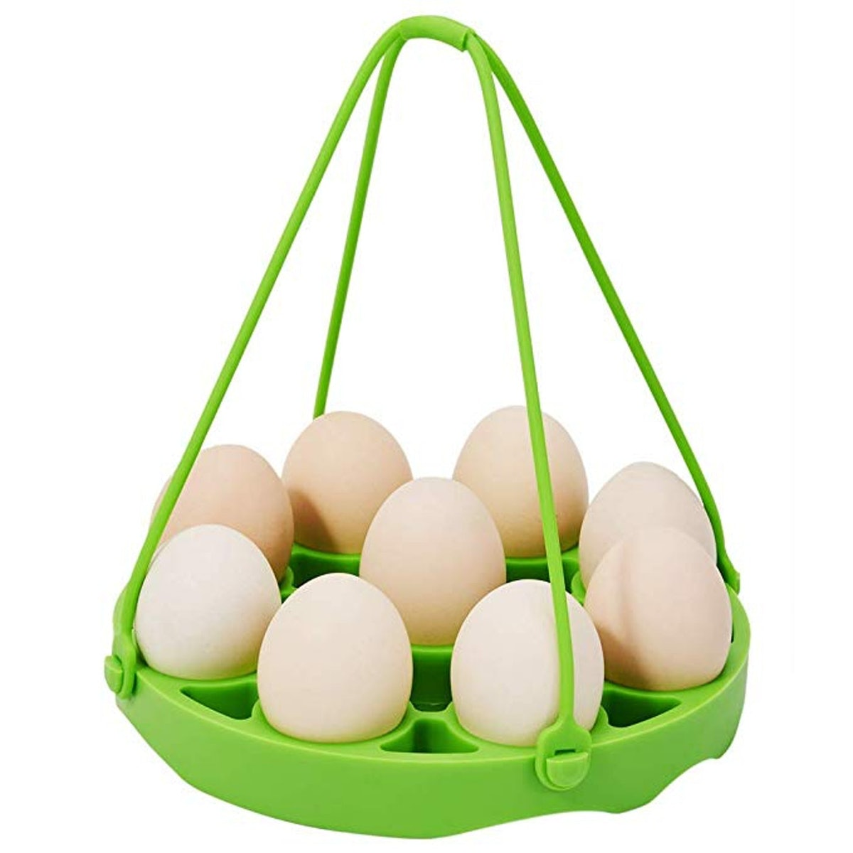 PRAMOO Silicone Egg Steamer Rack for Instant Pot