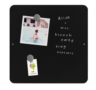 Three by Three Square Magnetic Chalk Board