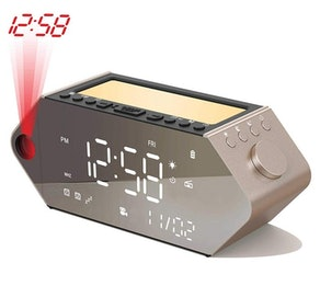 SICSMIAO Sunrise Projection Alarm Clock