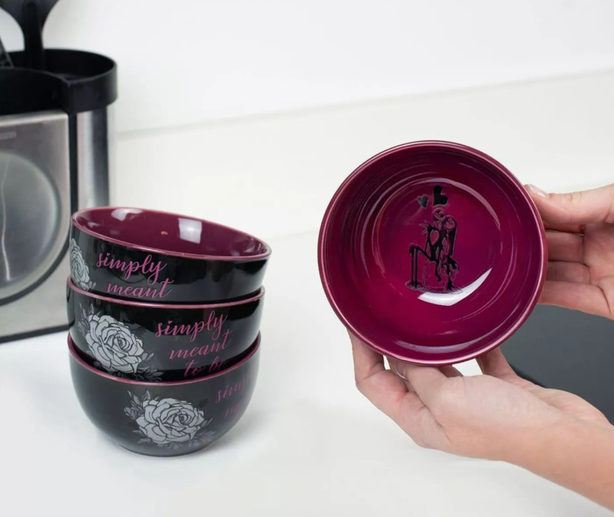 Nightmare Before Christmas Ceramic Bowls