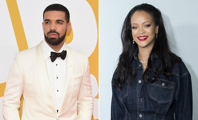 Er Rihanna dating Drake eller Chris Brown