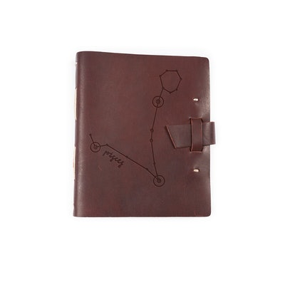 Pisces Leather Journal