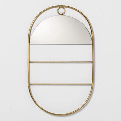 Decorative Metal Hanging Mirror