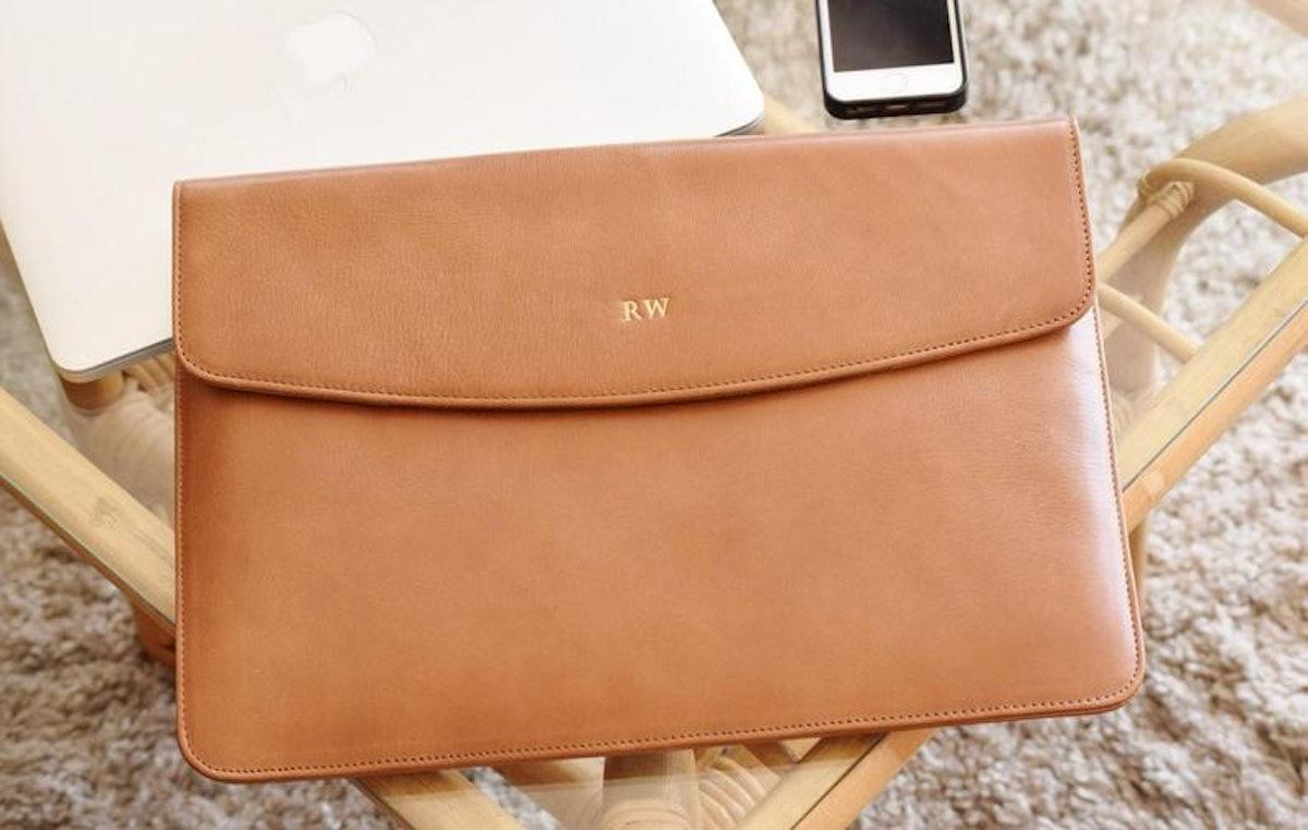 Leather Laptop Sleeve