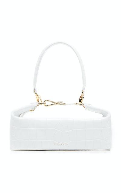 Olivia Croc-Effect Leather Bag