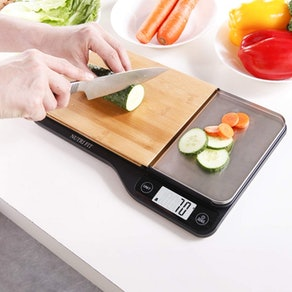 Nutrifit Cutting Board Food Scale