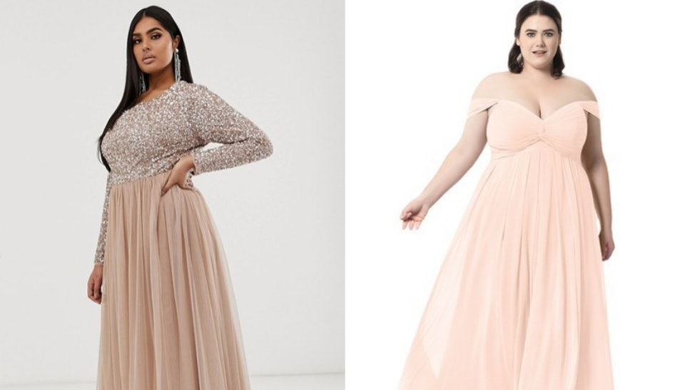 11 Size Inclusive Bridesmaids Dresses That Cost Less Than $300