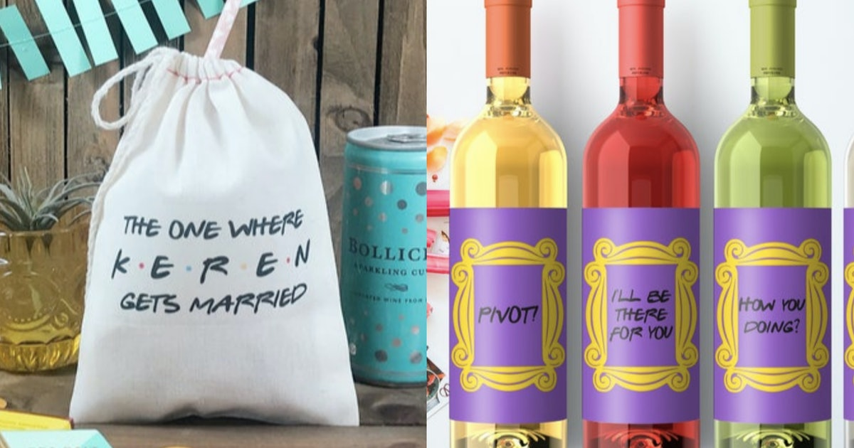 14 Friends Wedding Pieces You Can Buy For Your Big Day