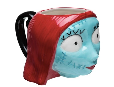 Sally Skellington Ceramic Halloween Mug