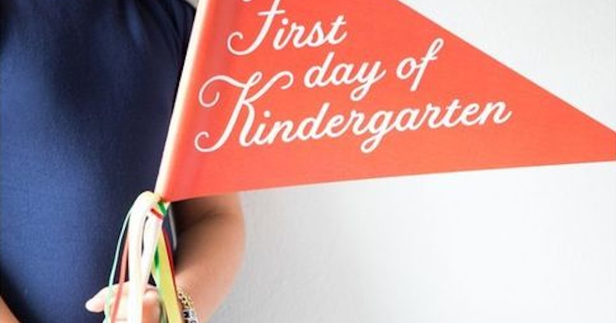 First Day Of School Banners From Maisonette Will Give You All The Feels — & The Best Pictures