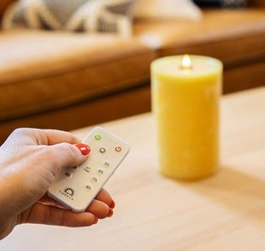 LuDela Remote Control Real-Flame Candle