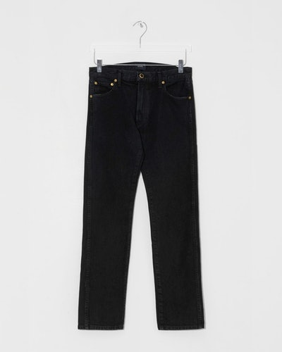 Black Kyle Relax Low Rise Jeans