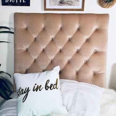 Dorm Room Twin Upholstered Headboard