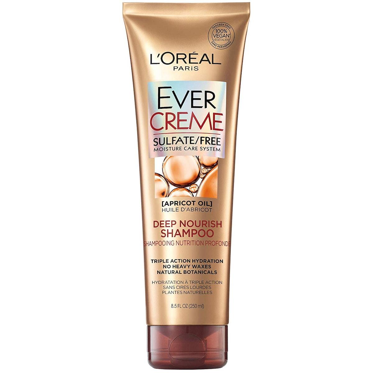 L'Oréal Paris EverCreme Sulfate Free Deep Nourish Shampoo