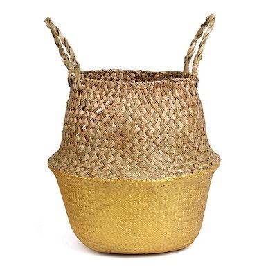 BlueMake Woven Plant Basket