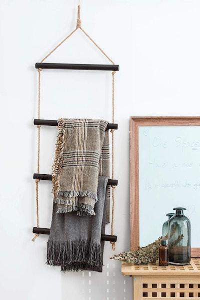 Isuesee Hanging Blanket Ladder
