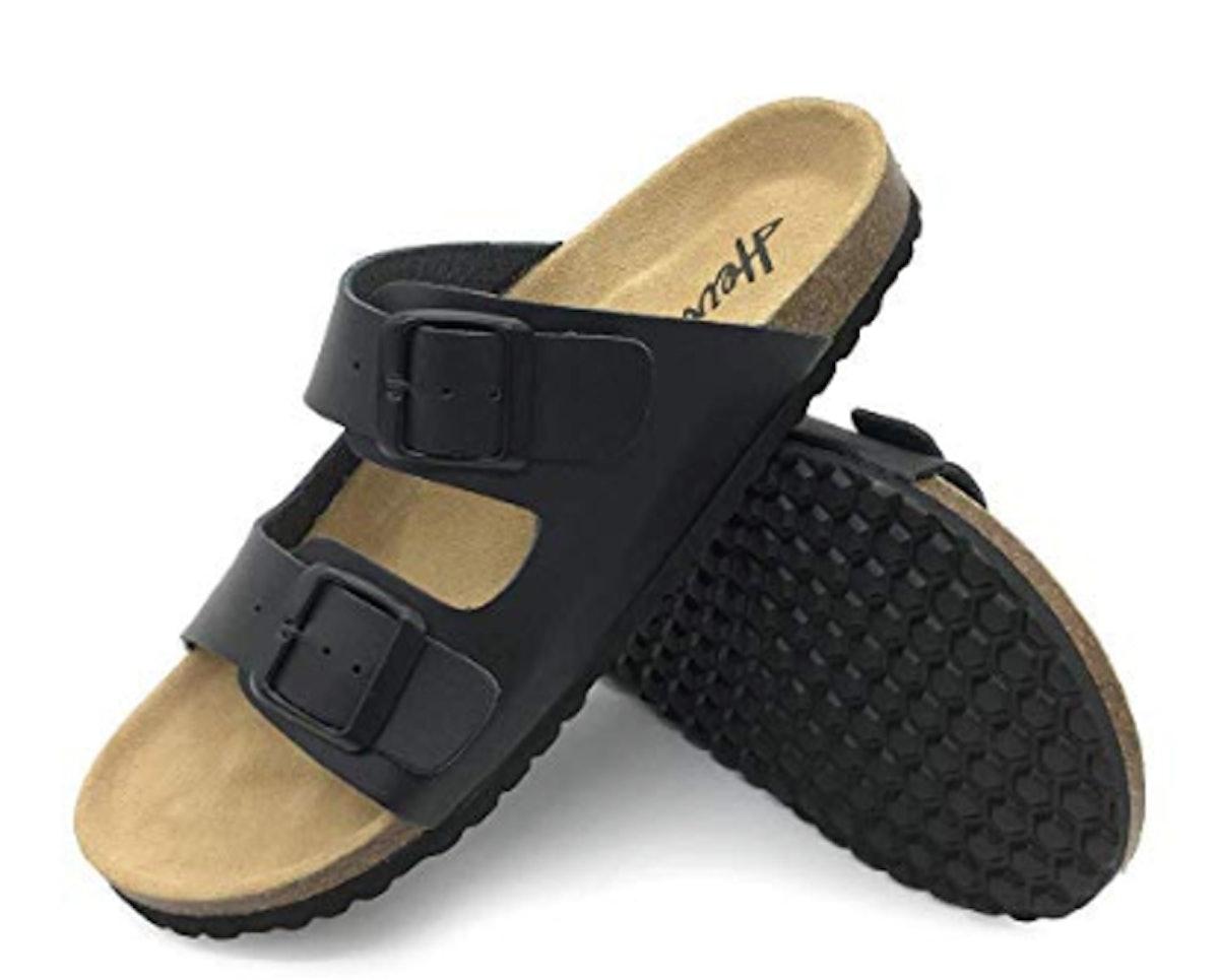 FUNKYMONKEY Women's Comfort Slides