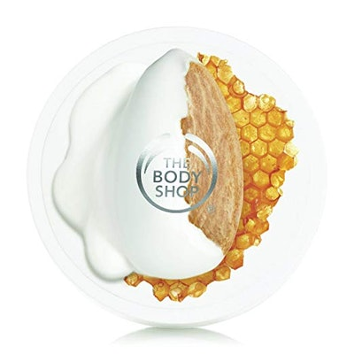 The Body Shop Almond Milk & Honey Body Butter for Sensitive, Dry Skin (1.7 oz)