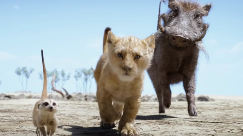 The Lion King Teases 2019s Version Of Hakuna Matata In