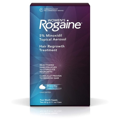 Women's Rogaine 5% Minoxidil Topical Aerosol Hair Regrowth Treatment