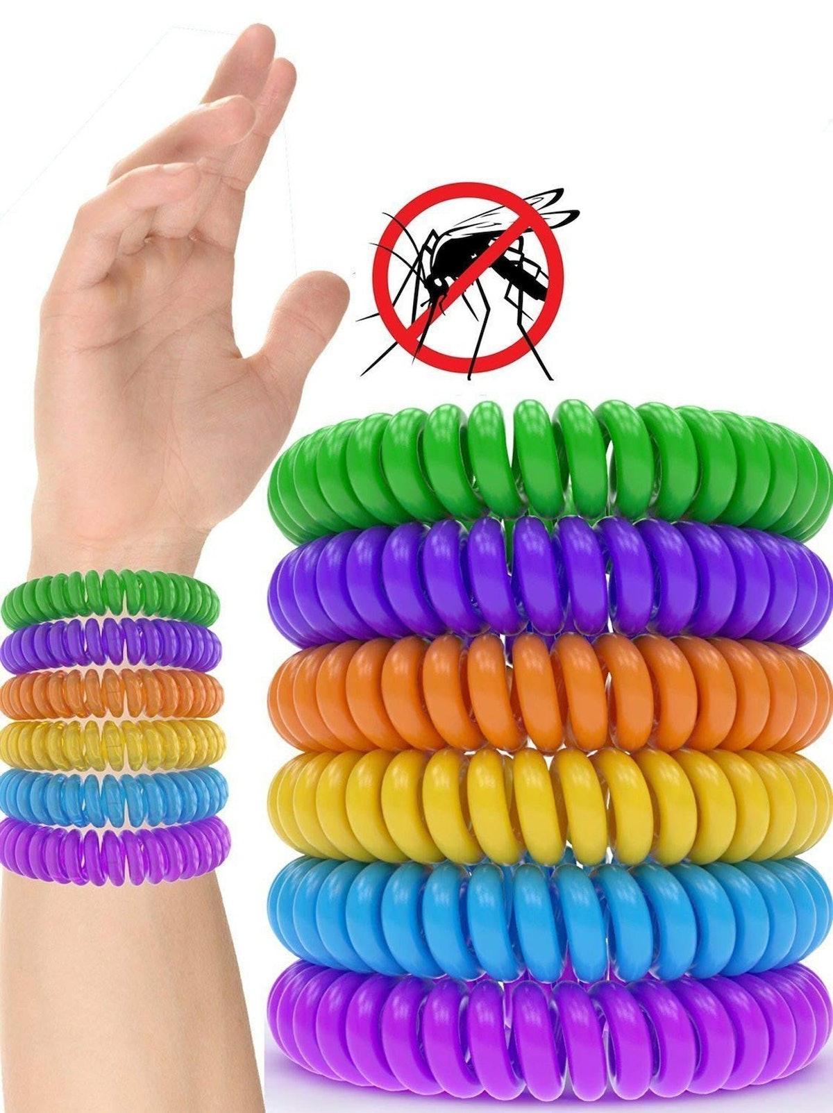 iCooker Mosquito Repellent Bracelet (12 Pack)