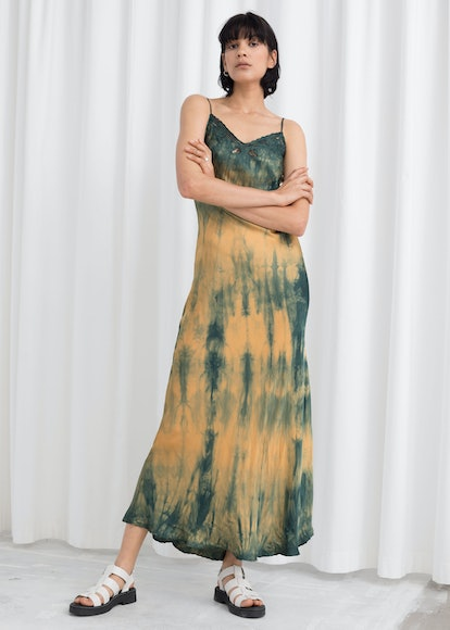 Tie Dye Midi Slip Dress
