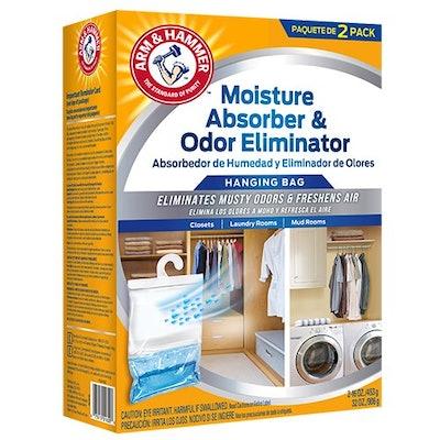 Arm & Hammer Moisture Absorber & Odor Eliminator Hanging Bag (2-Pack)