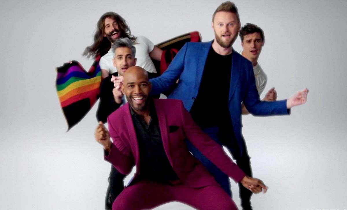 Netflix's 'Queer Eye' reboot is a great example of an uplifting LGBTQ+ show.