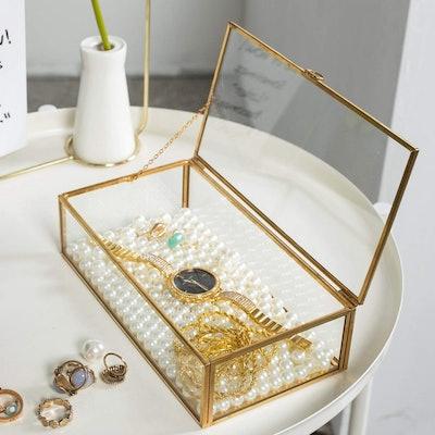 Levilan Lidded Jewelry Box
