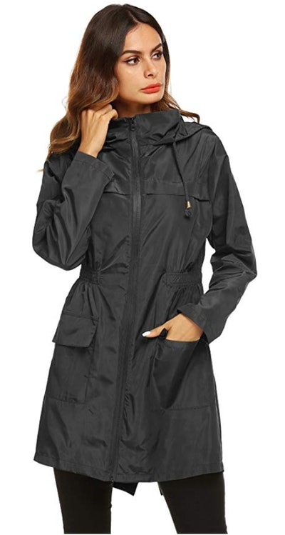 LOMON Women's Rain Jacket