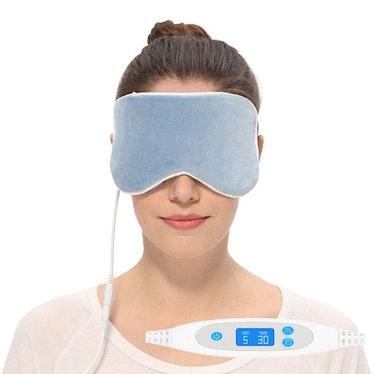 Aroma Season Silk Heated Eye Mask