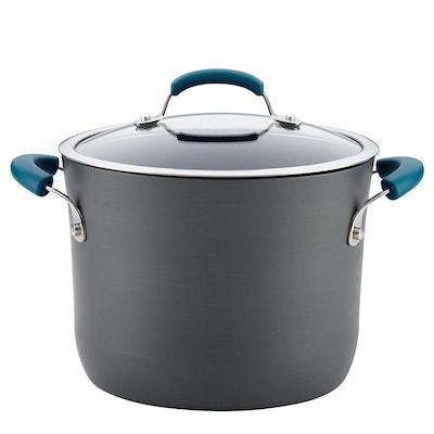 Rachael Ray Hard-Anodized Aluminum Covered Pot