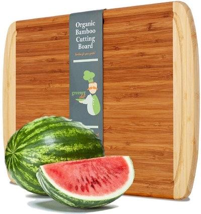 Greener Chef Extra Large Bamboo Cutting Board