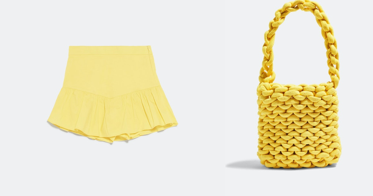 15 Yellow Clothing & Accessories Items That'll Make You Shine Brighter Than The Sun