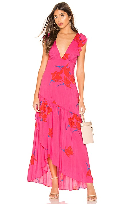 She's A Waterfall Maxi Dress  Free People brand: Free People