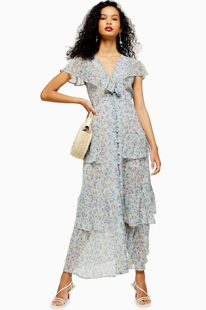 Floral Tiered Midaxi Dress