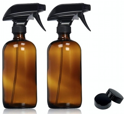 Sally's Organics Amber Glass Spray Bottles (2 Pack)