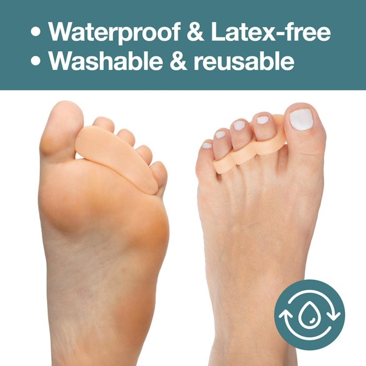 ZenToes Toe Straightener and Corrector (4 Pack)