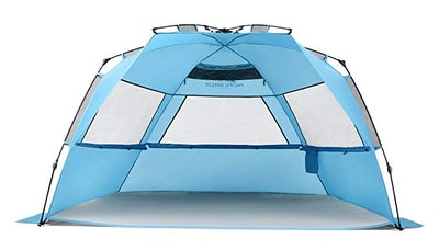 Pacific Breeze Easy Setup Beach Tent Deluxe XL