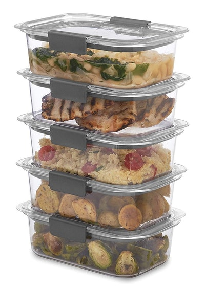 Rubbermaid Brilliance Food Storage Containers (5 Pack)