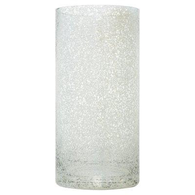 Silver Mercury Cylinder Vase