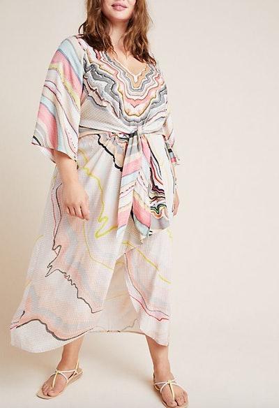 Dolman Sleeved Midi Dress