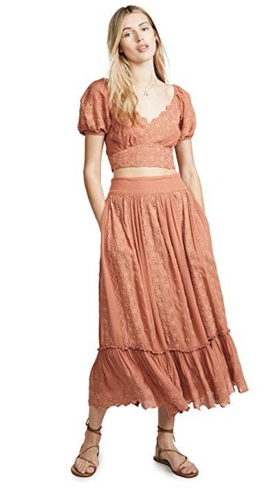 Ella Shirt & Skirt Set