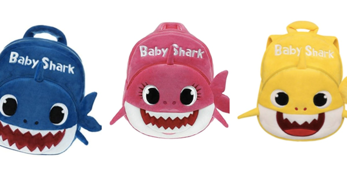 This Baby Shark Backpack Is A Must-Have For Every Shark-Singing Tot
