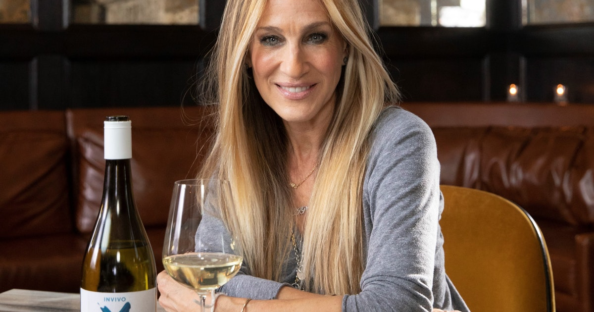 Sarah Jessica Parker's Invivo X, SJP Is The Perfect Sauvignon Blanc For Cosmo Drinkers