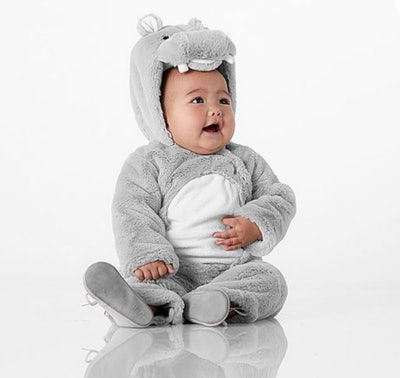 Baby Hippo Costume