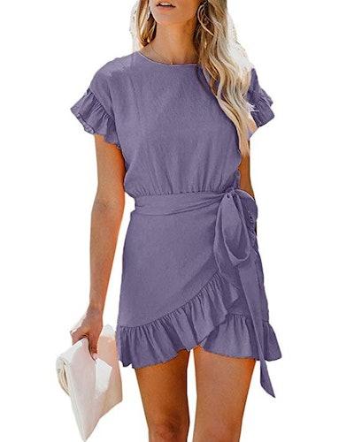 Youxiua Wrap Dress