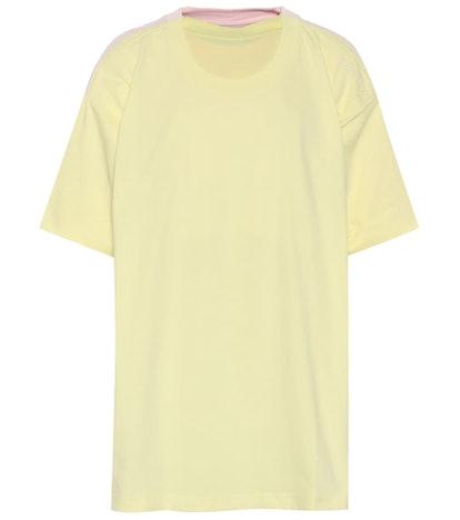 Multi-Layer Cotton T-Shirt