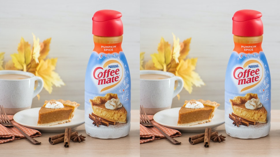 Coffee Mate S Pumpkin Spice Coffee Creamer Is Back For 2019